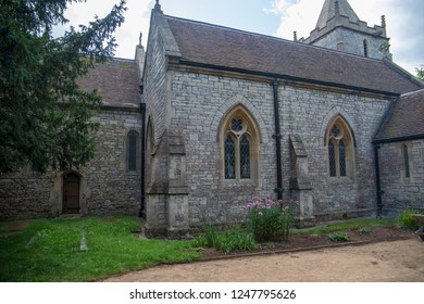 Corston, UK, 09-07-2018: Corston Church, situated in a small village just outside Bath