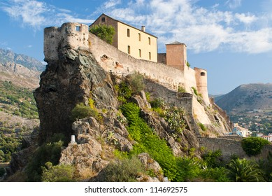 Corte, the old Corsican capital