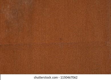 corten steel rusty texture, brown background