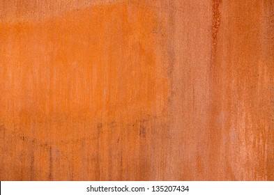 Corten steel texture