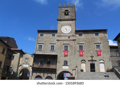 Cortona's Church , Cortona, Tuscany,Italy ,may 2019