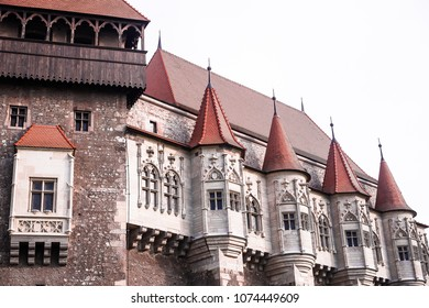 Corvin Castle, also known as Hunyadi Castle or Hunedoara Castle. It is one of the largest castles in Europe and figures in a list of the seven wonders of Romania.
