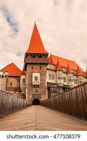 Corvin Castle A Spectacular Medieval Castle In Transylvania, Hunedoara, Romania