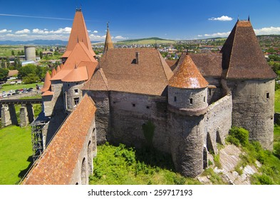 The Corvin castle in Transylvania