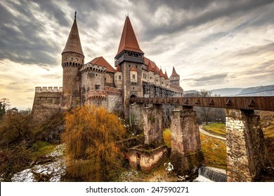 The Corvinesti castle also known as the Hunyad castle, is a Gothic-Renaissance castle in Hunedoara (Transylvania), Romania.