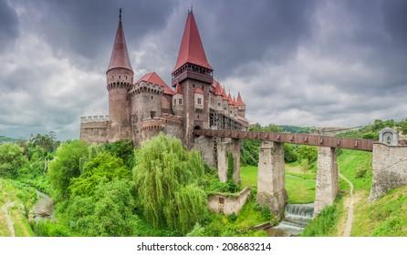 Corvin's Castle / Hunyadi Castle / in Hunedoara, Romania