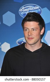 Cory Monteith at the party for the American Idol Final 12 at Industry, Los Angeles. March 11, 2010  Los Angeles, CA Picture: Paul Smith / Featureflash