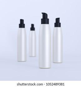 cosmetic bottle 3D