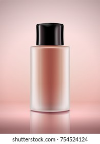 Cosmetic bottle mockup, blank container  without label - Shutterstock ID 754524124
