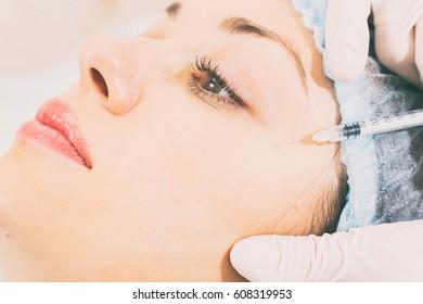 Cosmetic facial treatment