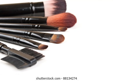 Cosmetic isolated on the white background.