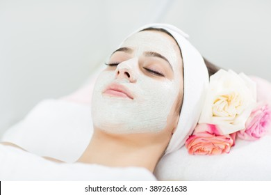 Cosmetic mask on face