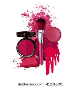 cosmetic pink fashion theme