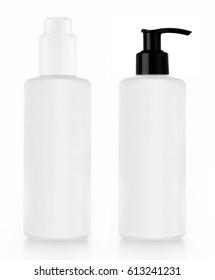 cosmetic product on a white background