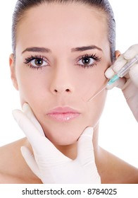 cosmetic treatment injection