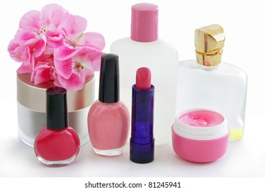 cosmetics for women's beauty