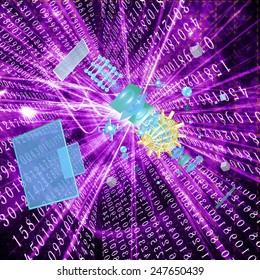 Cosmic communication technology