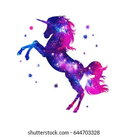 Cosmic Unicorn, Fantasy, Stars