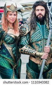 Cosplay London Comic Con 2018 Aquaman