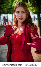 Cosplay London Comic Con 2018 Scarlet Witch