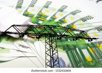 Cost of electricity prices as a symbol