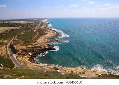 Cost of Mediterranian Sea north of Akko