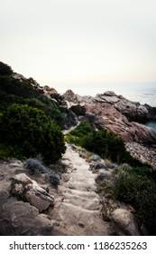 Costa Paradiso, Sardegna / Italy - 08.01.2018