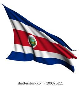 Costa Rica flag- collection no_4
