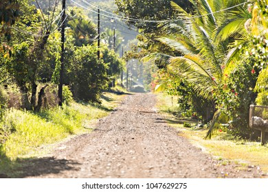 Costa Rica road at Ojochal Costa Rica