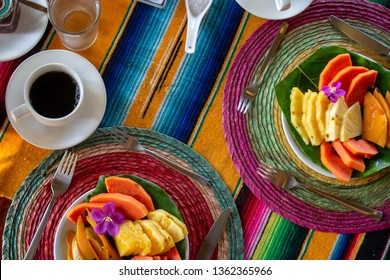 Costa Rican Fruit Breakfast