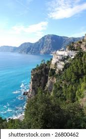 Costiera Amalfitana (Amalfi Coast) on the Sorrentine Peninsula, Near Positano Salerno, Campania, Italy