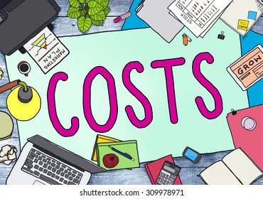 Costs Accounting Financial Money Cash Concept