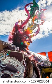 Costume of Devil, Festival of the Virgin of the Candelaria Puno, Peru.