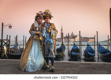 Costumes and masks for the Venice carnival 2019