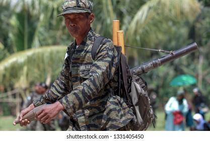 COTABOTA PHILIPPINES - 0CTOBER 14 2012, Moro Islamic Liberation Front (MILF) at the main camp in Darapanan, Cotabato