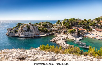 Cote d`azur, Niolon, Bay of Marseille, Provence, France