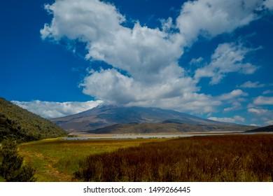 Cotopaxi National Park, Ecuador home to the Cotopaxi Volcano