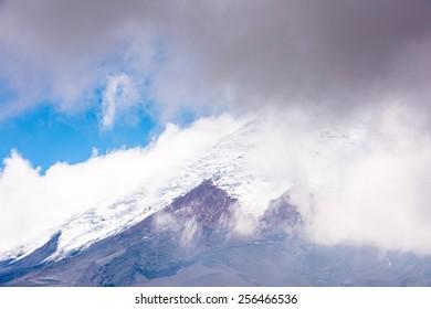Cotopaxi volcano, Cotopaxi National Park, Ecuador