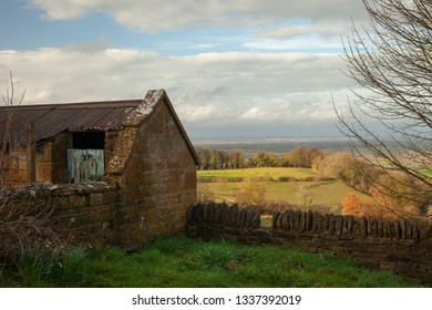 Cotswold landscape near Chipping Campden, Gloucestershire, England