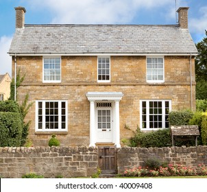 A cotswold stone house