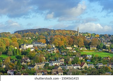 The Cotswold Village of Painswick on an early Autumn morning, Gloucestershire, England, UK