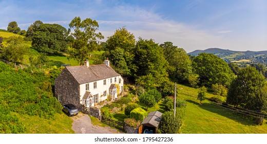 Cottage in Dartmoor National park, England, UK