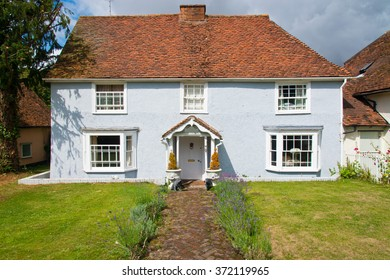 a cottage in an english village
