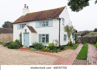 Cottage in an english village