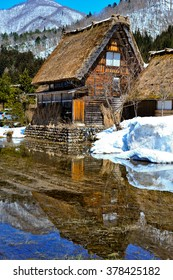 Cottage at Gassho-zukuri Village/Shirakawago, Japan