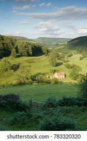 A cottage in Gower Dale, in the North York Moors National Park, Yorkshire, UK