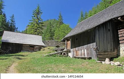 Cottage at Kvacianska dolina, Slovakia
