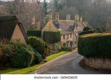 Cottages at Broad Campden, Cotswolds, Gloucestershire, England
