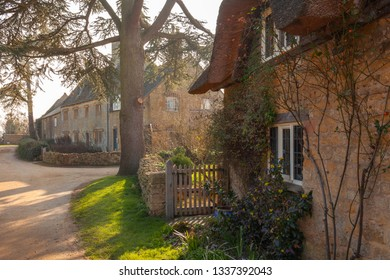Cottages at Hidcote Bartrim, Cotswolds, Gloucestershire, England