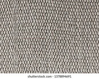 cotton background made by natural hemp rope